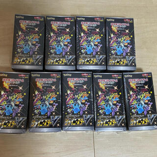 ポケモン(ポケモン)の新品未開封 シャイニースターv 9BOX(Box/デッキ/パック)