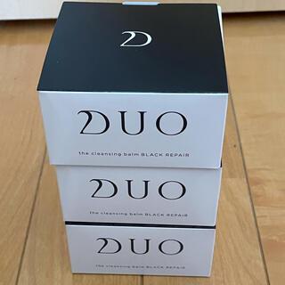 DUO クレンジングバームブラック90g×3個