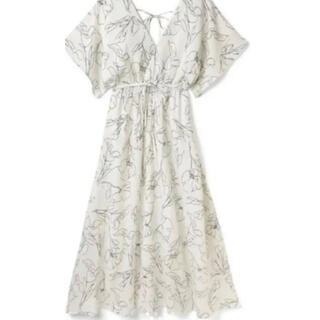 GRL - GRL 白石麻衣 フレアスリーブ花柄カシュクールワンピース[k8648w]