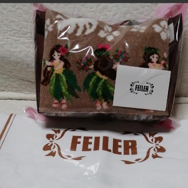FEILER(フェイラー)のフェイラー FEILER マナマナ スパポーチ 新品 ミニバッグ ハンカチ 完売 レディースのファッション小物(ポーチ)の商品写真