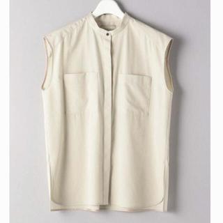 ユナイテッドアローズ(UNITED ARROWS)のUBCB 2ポケット ノースリーブ シャツ(シャツ/ブラウス(半袖/袖なし))