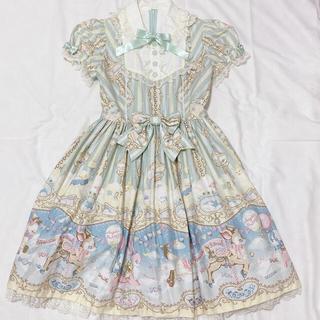 アンジェリックプリティー(Angelic Pretty)のFantasic Carnival ミントOP+KCセット(ひざ丈ワンピース)