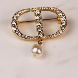 クリスチャンディオール(Christian Dior)のクリスチャンディオールブローチ(ブローチ/コサージュ)