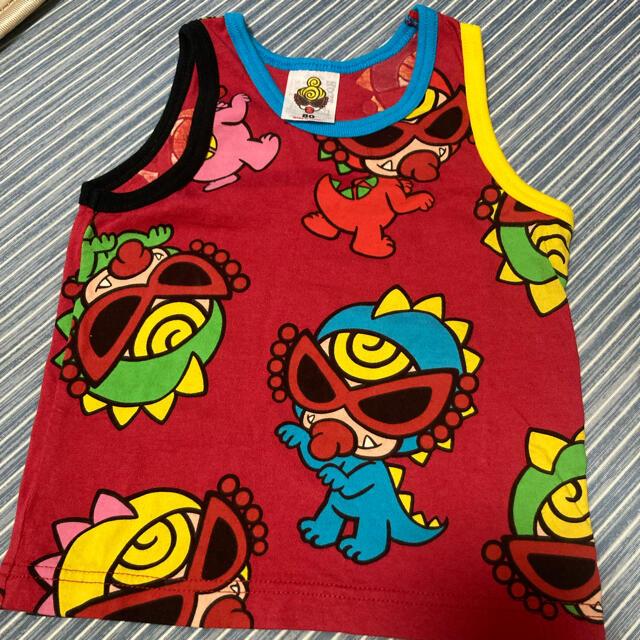 HYSTERIC MINI(ヒステリックミニ)のミニラ タンクトップ キッズ/ベビー/マタニティのキッズ服女の子用(90cm~)(Tシャツ/カットソー)の商品写真