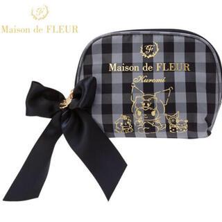 Maison de FLEUR - 新品 Maison de FLEUR クロミちゃん ティッシュポーチ 黒