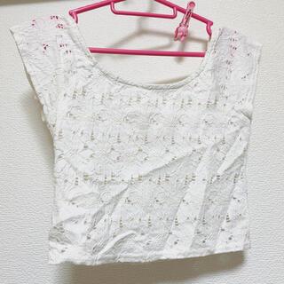 リゼクシー(RESEXXY)のリゼクシー レース トップス(カットソー(半袖/袖なし))