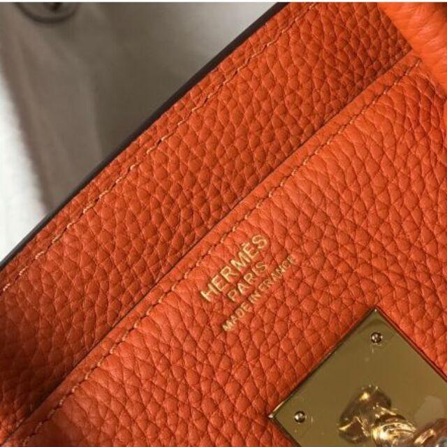 Hermes(エルメス)のエルメス バーキン25 ゴールド レディースのバッグ(ハンドバッグ)の商品写真