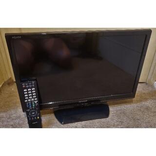 SHARP - シャープAQUOS22インチ録画機能付ハイビジョンテレビ美品