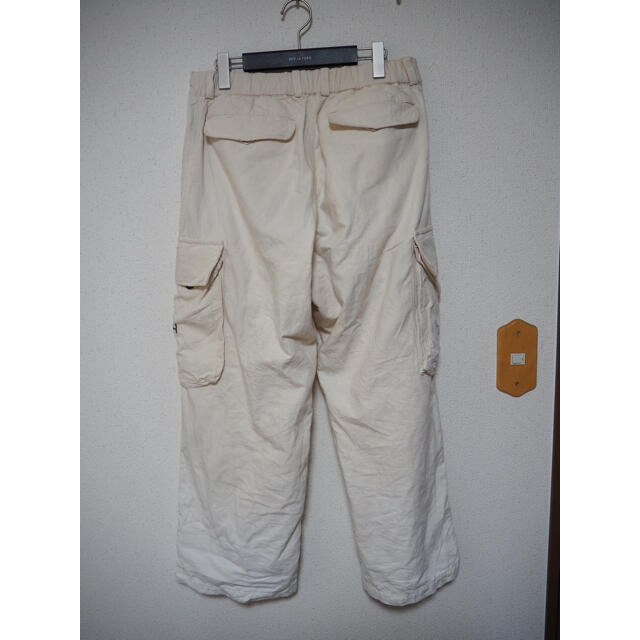 COMOLI(コモリ)の20ss outil 別注 40s 50s vintage生地 M-47 メンズのパンツ(ワークパンツ/カーゴパンツ)の商品写真