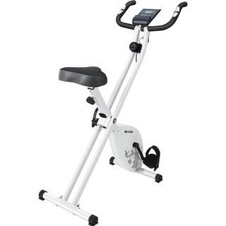 【弛んだ体にサヨナラ】エアロマグネティックバイク フィットネスバイク White(エクササイズ用品)