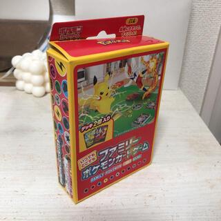 ポケモン(ポケモン)のポケモンカードゲーム ソード&シールド いつでもどこでもファミリーポケモンカード(Box/デッキ/パック)