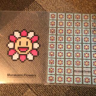 モマ(MOMA)の村上隆 Murakami Flower Clear File A&B2枚セット!(キャラクターグッズ)