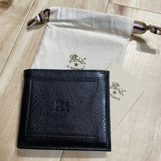 IL BISONTE - 新品 IL BISONTEイルビゾンテ レザーウォレット 折財布 イタリア製