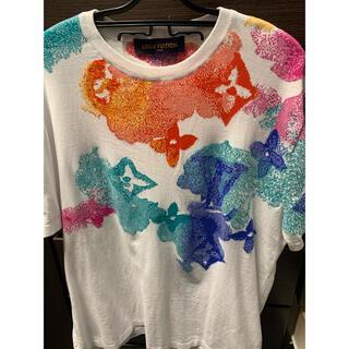 ルイヴィトン(LOUIS VUITTON)のルイヴィトン tシャツ ウォーターカラー モノグラム(Tシャツ/カットソー(半袖/袖なし))