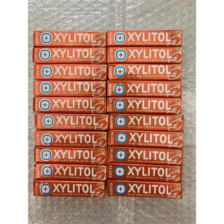 ロッテ キシリトールガム<ブラッドオレンジ>1セット(14粒入×20個)