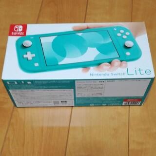 Nintendo Switch - 【新品】【送料込み】Nintendo switch lite 本体 ターコイズ