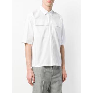 Jil Sander - 極美品 JIL SANDER 18ss flap pocket shirt