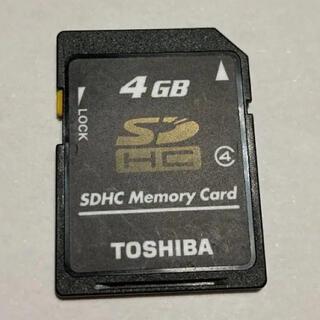 東芝 - TOSHIBA  SD カード 4GB