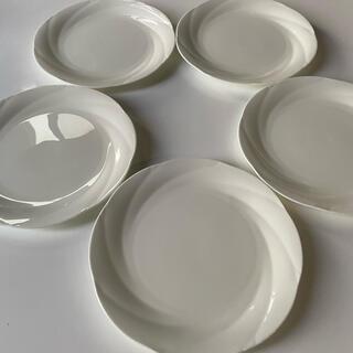 Noritake - 超美品☆5枚セット ノリタケ アンサンブルホワイト19.6センチ平皿