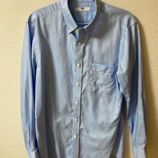 ユニクロ(UNIQLO)のユニクロ Yシャツ Mサイズ ボタンダウンシャツ 長袖シャツ(シャツ)