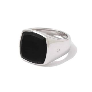 Maison Martin Margiela - tomwood cushion black onyx ring 指輪 リング