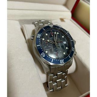 OMEGA - OMEGA シーマスター ダイバー300M クロノグラフ オメガ 腕時計