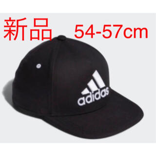 adidas - 新品 adidas キッズ フラット キャップ 帽子 熱中症対策