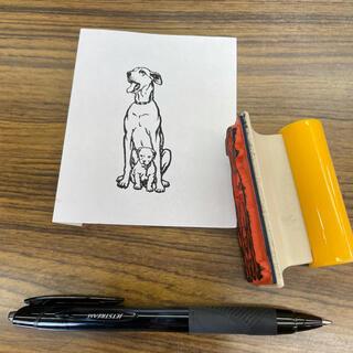 シャチハタ(Shachihata)のシャチハタ スタンプ 犬(印鑑/スタンプ/朱肉)