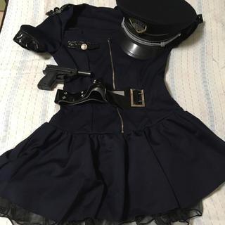 ハロウィン【ポリス】コスプレ美品(衣装一式)