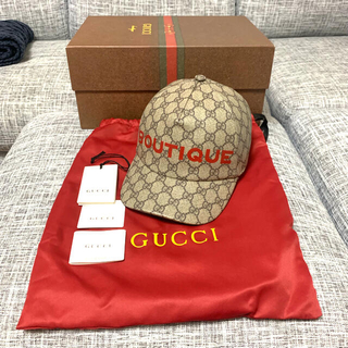 Gucci - GUCCI CAP グッチ キャップ GG BOUTIQUE