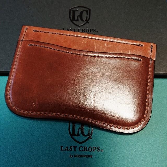 Corbo(コルボ)のラストクロップス ソイル シェルコードバン #4 メンズのファッション小物(名刺入れ/定期入れ)の商品写真