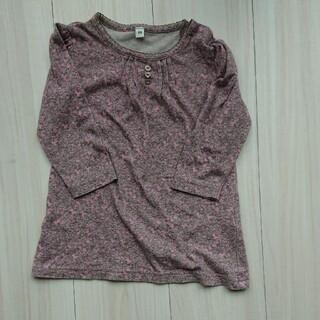 ムジルシリョウヒン(MUJI (無印良品))の子供服カットソー 80cm 美品(シャツ/カットソー)