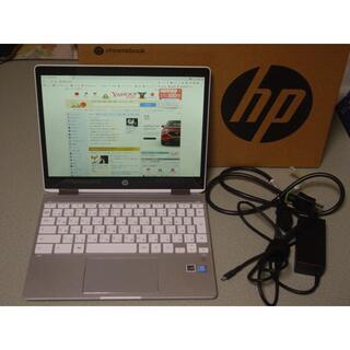 ヒューレットパッカード(HP)のHP Chromebook x360 12b-ca0002T 4GB 64GB(ノートPC)