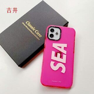 シー(SEA)の【新品】WIND AND SEA iPhoneケース 12/12pro用b(iPhoneケース)