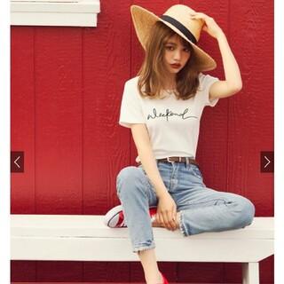 グレイル(GRL)のGRL ロゴクルーネックTシャツ(Tシャツ/カットソー(半袖/袖なし))