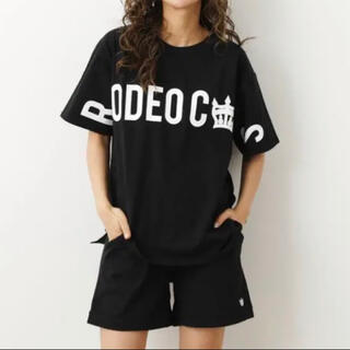 RODEO CROWNS WIDE BOWL - ロデオ ★OnemileTシャツ&ショートパンツ【M】