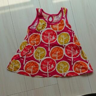 ユニクロ(UNIQLO)の子供服ワンピース 80cm 美品(ワンピース)