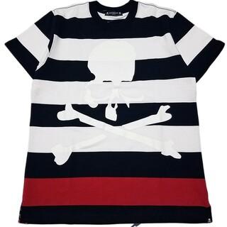 マスターマインドジャパン(mastermind JAPAN)のマスターマインドジャパン ボーダーTシャツL(Tシャツ/カットソー(半袖/袖なし))