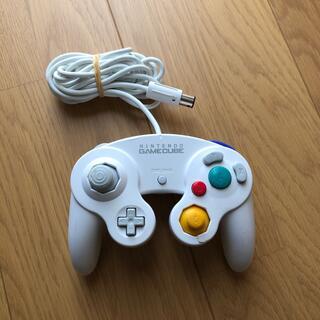 ニンテンドーゲームキューブ(ニンテンドーゲームキューブ)のゲームキューブ コントローラー ホワイト(家庭用ゲーム機本体)
