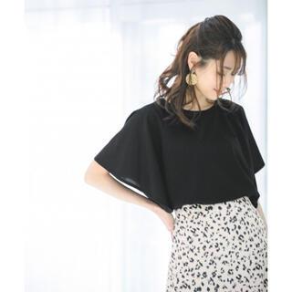 グローバルワーク(GLOBAL WORK)の♡タグ付き 新品 未使用♡GLOBAL  WORK リラックス美人フリルTシャツ(Tシャツ(半袖/袖なし))