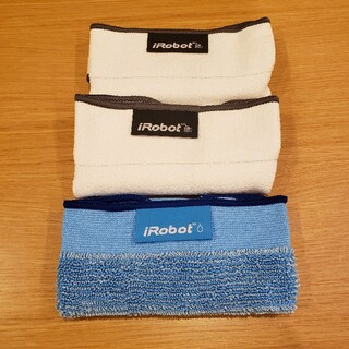 アイロボット(iRobot)のiRobot アイロボット ブラーバ交換用 クロスセット 380j(掃除機)