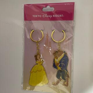 ディズニー(Disney)の美女と野獣のキーホルダー(キーホルダー)
