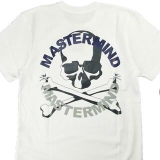 マスターマインドジャパン(mastermind JAPAN)のマスターマインドジャパン ホワイトTシャツ(Tシャツ/カットソー(半袖/袖なし))
