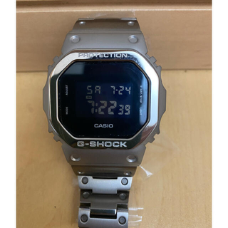 ジーショック(G-SHOCK)のG-SHOCK DW5600 チタン製ベゼルバンドセット(金属ベルト)