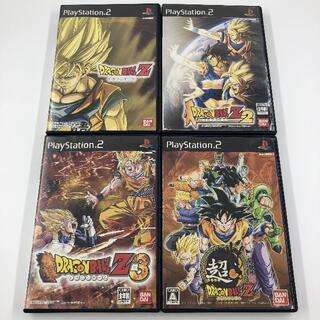 プレイステーション2(PlayStation2)のPS2 ドラゴンボールZ 2 3 超 セット(家庭用ゲームソフト)
