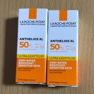 LA ROCHE-POSAY - ラロッシュポゼ アンテリオス XL フリュイド 日焼け止め乳液 3ml  2個