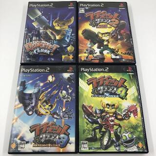 プレイステーション2(PlayStation2)のPS2 ラチェット&クランク 1 2 3 4 セット(家庭用ゲームソフト)