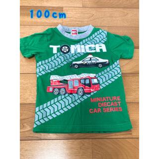 【使用品】トミカ柄 Tシャツ 100cm