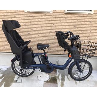 パナソニック(Panasonic)のパナソニック ギュットアニーズ DX 前後2020年ネイビー 20型 電動自転車(自転車本体)