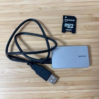 バッファロー(Buffalo)のSDカードリーダー USB(PC周辺機器)